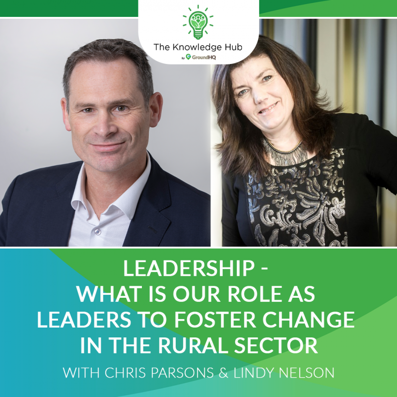 Episode 3 - Leadership - What is our role as leaders to foster change in the rural sector?